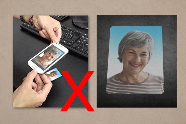 prefotenie papierovej fotografie mobilom